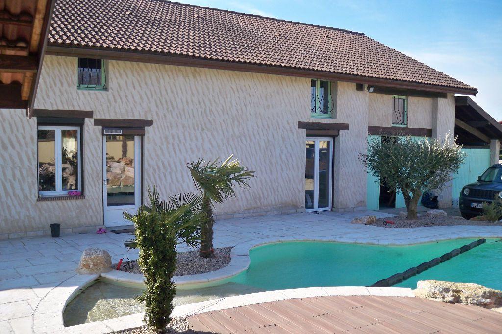 Maison à vendre 5 214m2 à Péronnas vignette-1