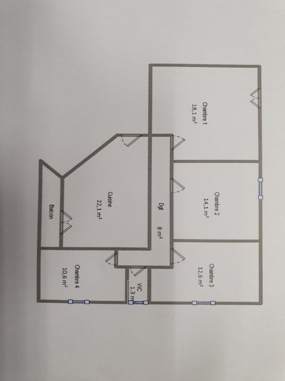 Appartement à vendre 5 87m2 à Bourg-en-Bresse vignette-1