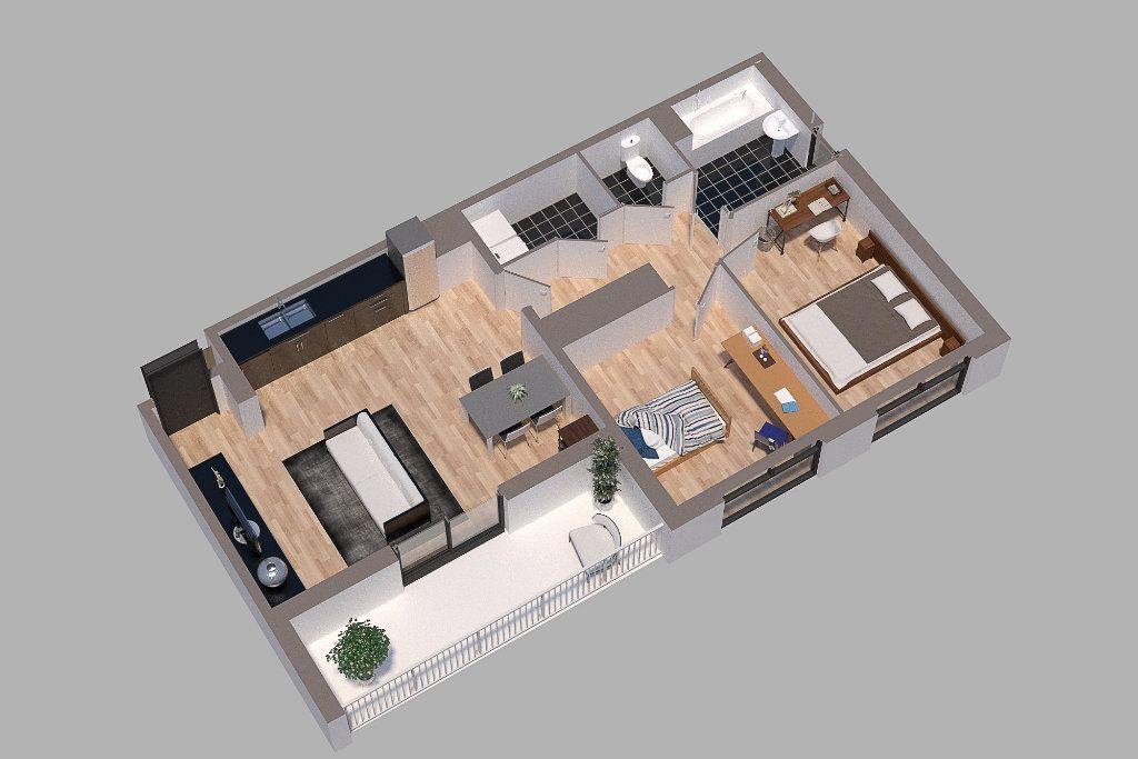 Appartement à vendre 3 66m2 à Chenôve vignette-3