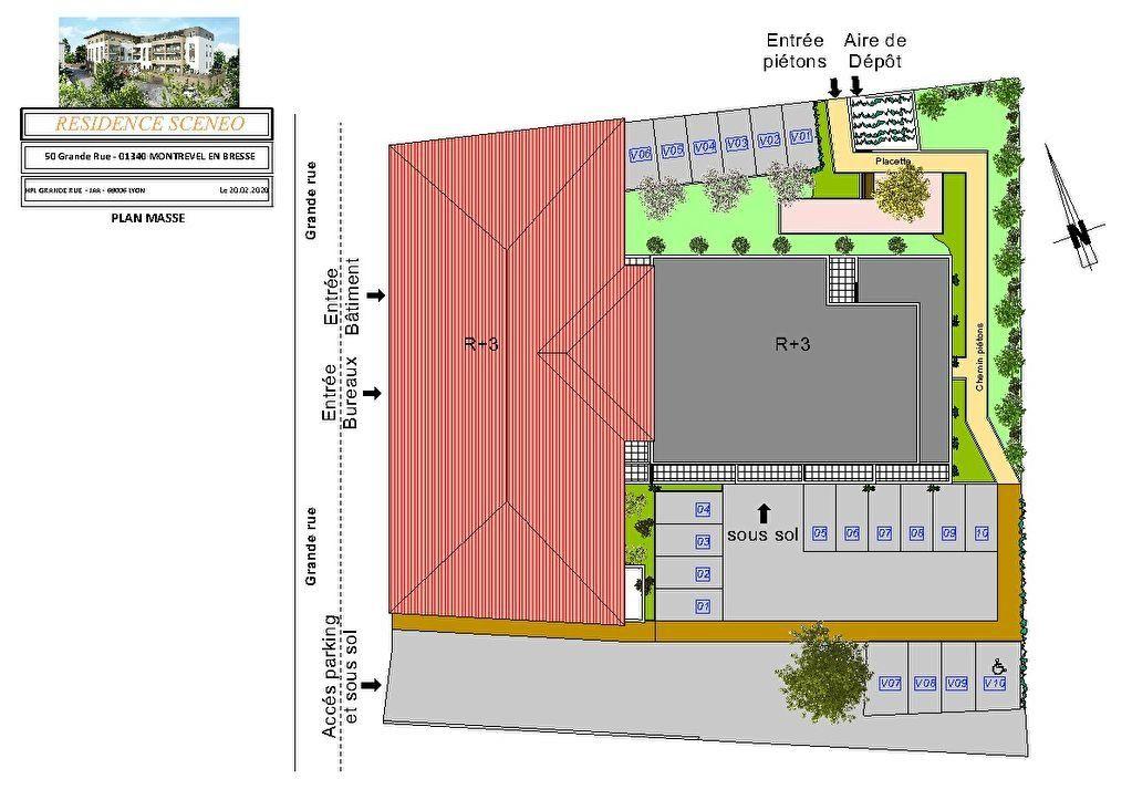 Appartement à vendre 3 54m2 à Montrevel-en-Bresse vignette-3
