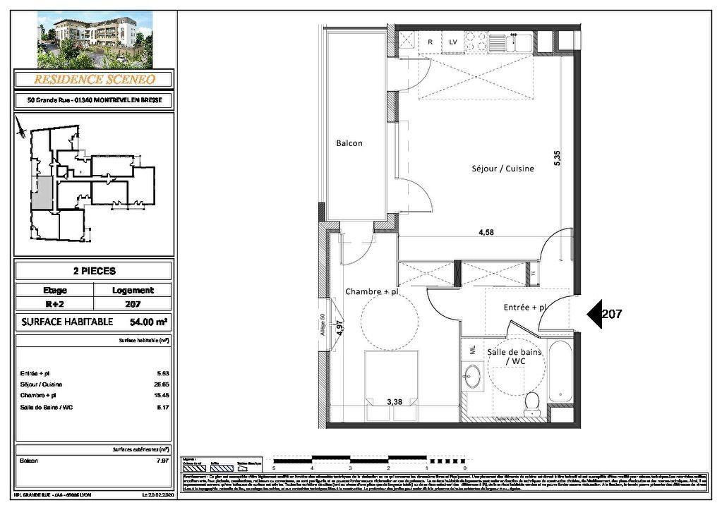 Appartement à vendre 3 54m2 à Montrevel-en-Bresse vignette-16