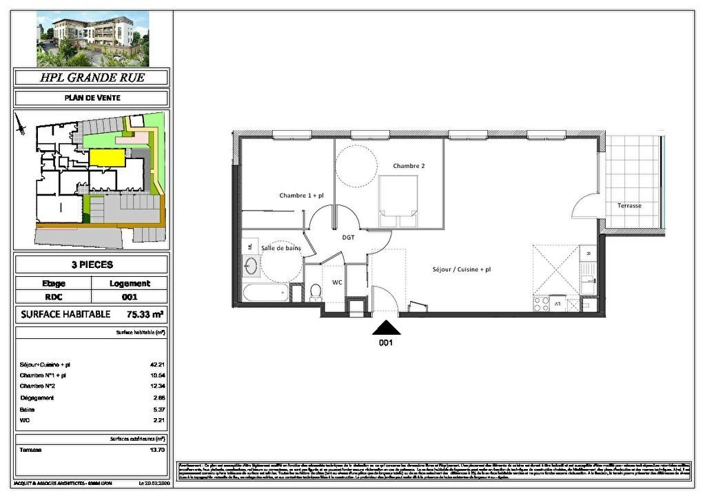 Appartement à vendre 2 47.67m2 à Montrevel-en-Bresse vignette-6