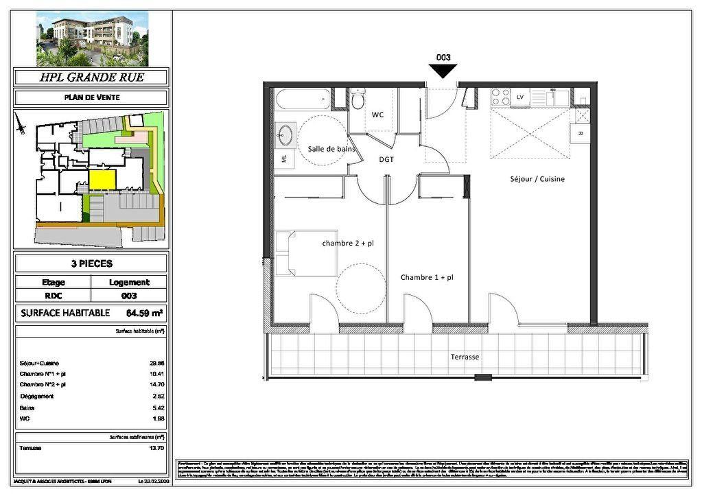 Appartement à vendre 2 47.67m2 à Montrevel-en-Bresse vignette-8