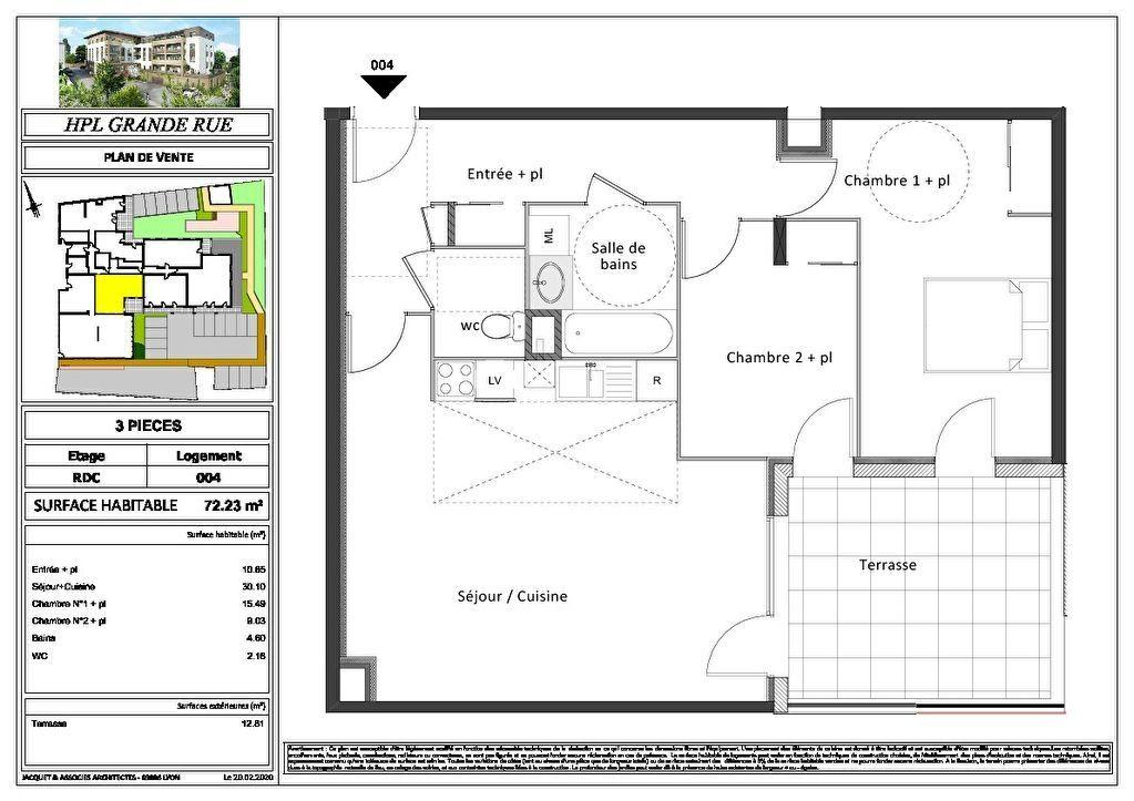 Appartement à vendre 2 47.67m2 à Montrevel-en-Bresse vignette-9