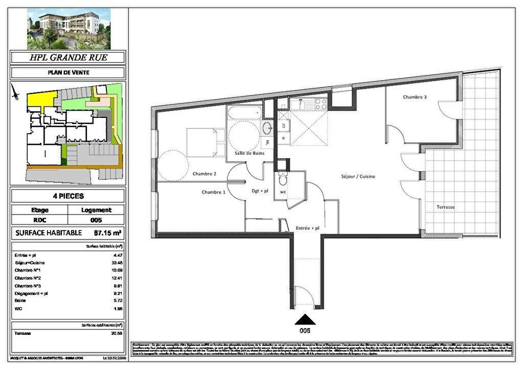 Appartement à vendre 2 47.67m2 à Montrevel-en-Bresse vignette-10