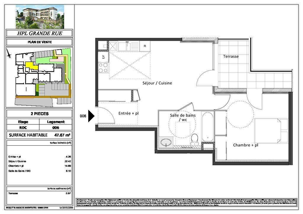 Appartement à vendre 2 47.67m2 à Montrevel-en-Bresse vignette-11