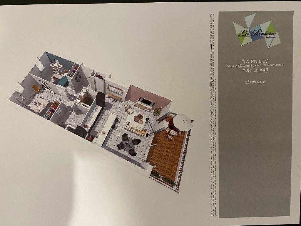 Appartement à vendre 3 69.95m2 à Montélimar vignette-4