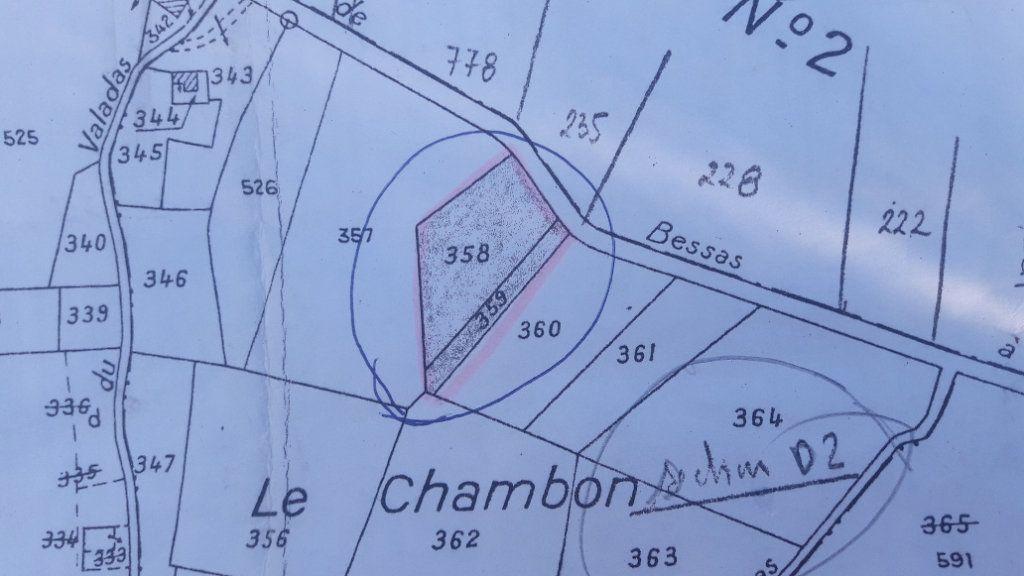 Terrain à vendre 0 2900m2 à Vagnas plan-1