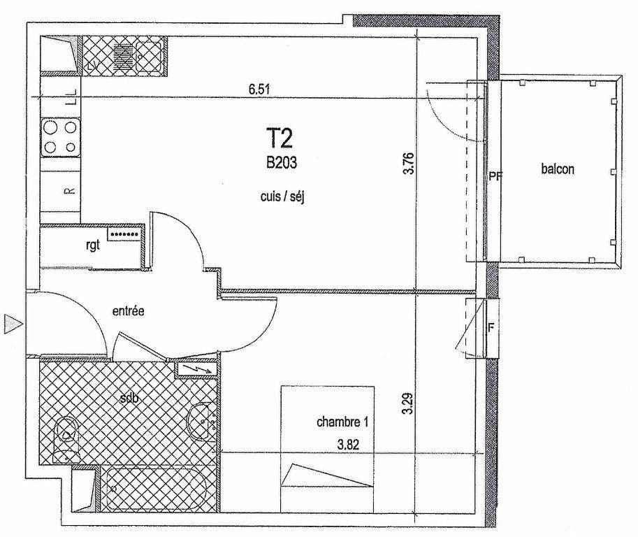 Appartement à louer 2 44.29m2 à Meaux vignette-6