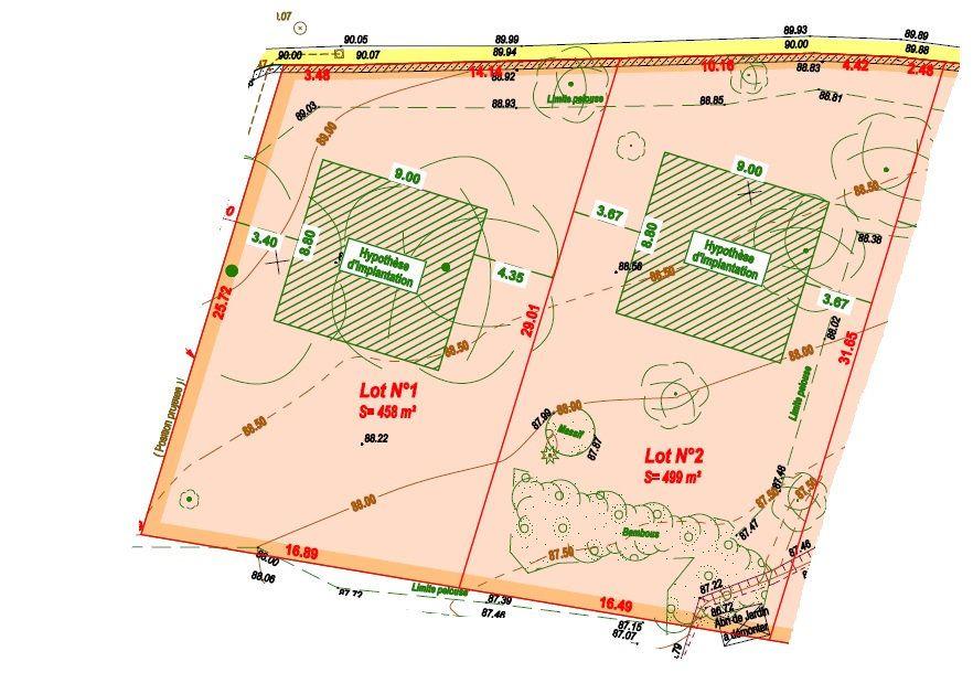 Terrain à vendre 0 957m2 à Tancrou vignette-2