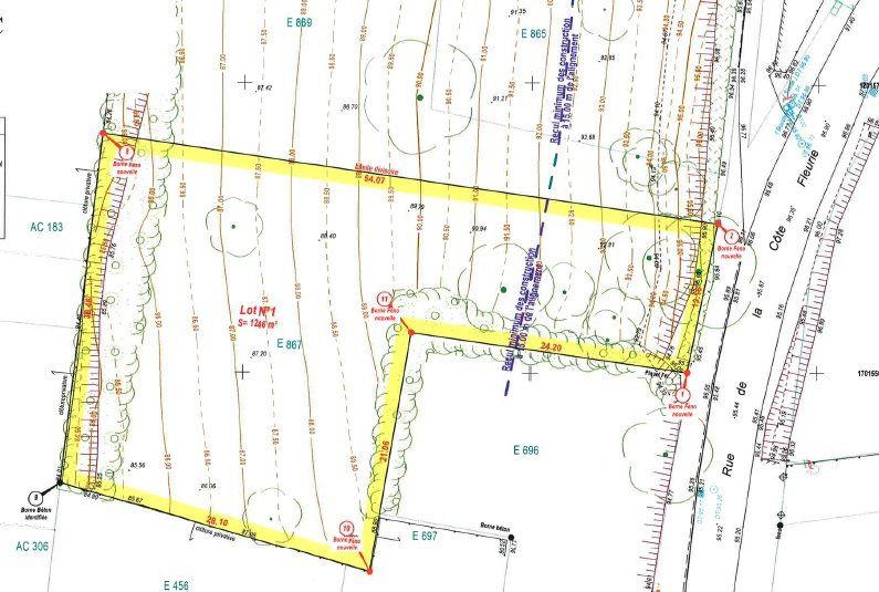 Terrain à vendre 0 1246m2 à Saint-Jean-les-Deux-Jumeaux vignette-2