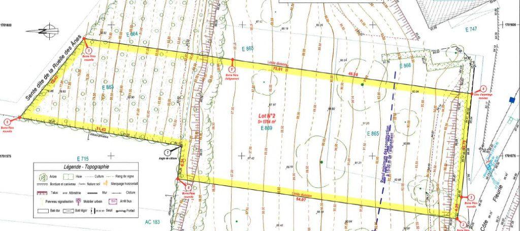 Terrain à vendre 0 1754m2 à Saint-Jean-les-Deux-Jumeaux vignette-2