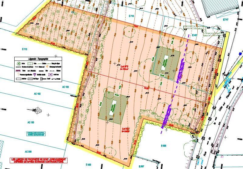 Terrain à vendre 0 3000m2 à Saint-Jean-les-Deux-Jumeaux vignette-2