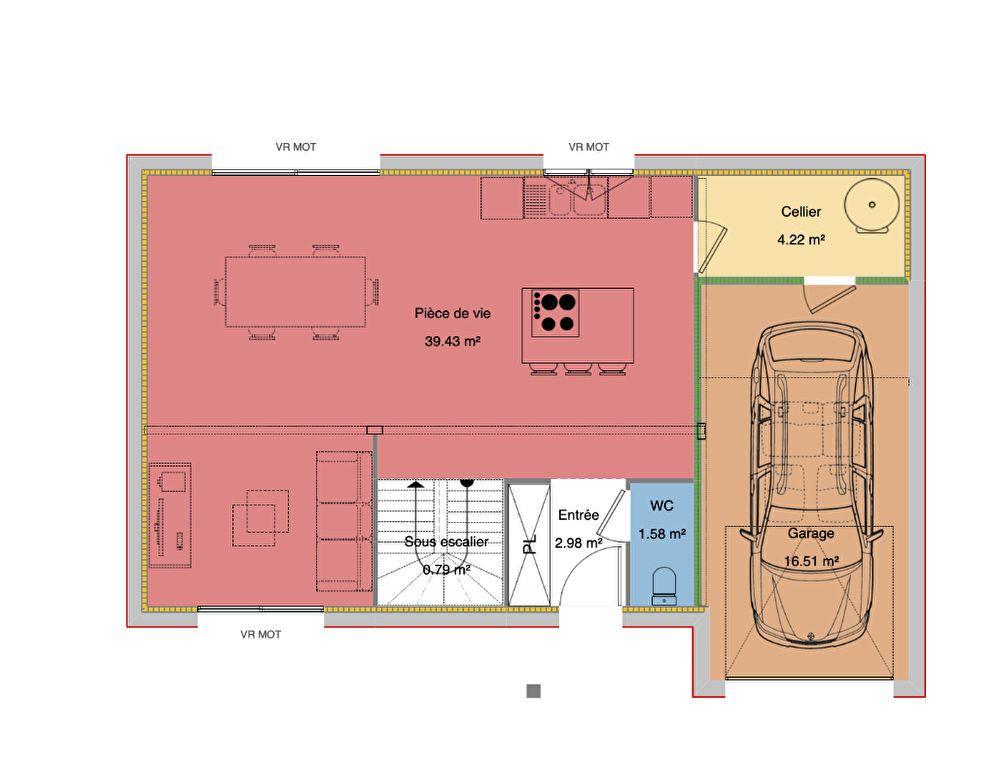 Maison à vendre 4 92.12m2 à Uzos vignette-4