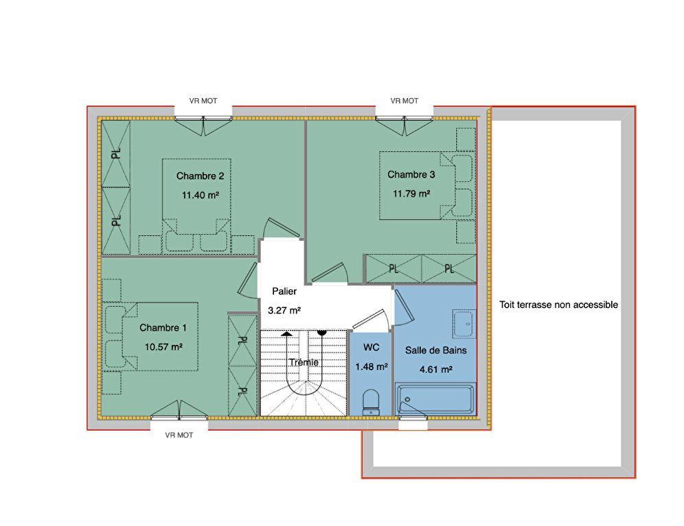 Maison à vendre 4 92.12m2 à Uzos vignette-5