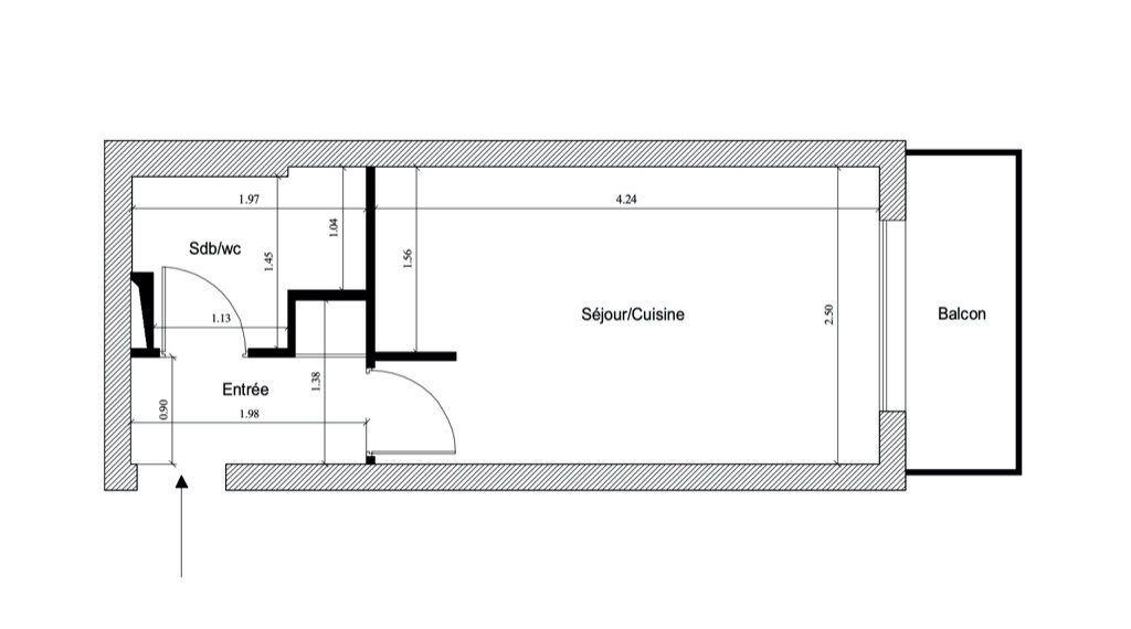 Appartement à vendre 1 15.09m2 à Paris 12 vignette-2
