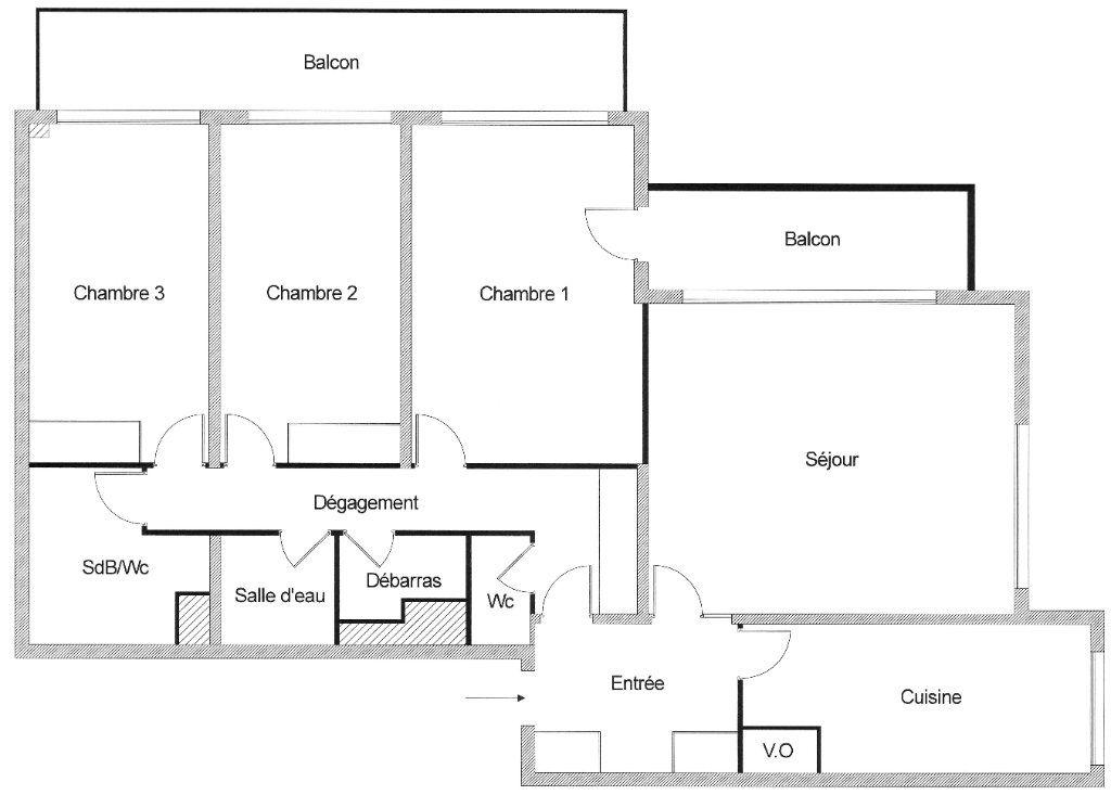 Appartement à vendre 4 102m2 à Paris 12 vignette-8