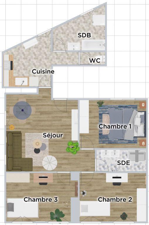 Appartement à vendre 4 89m2 à Paris 20 vignette-16