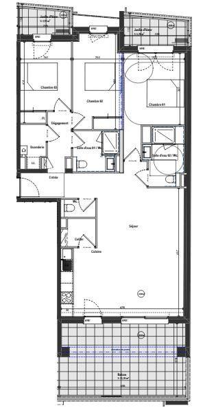 Appartement à vendre 4 98.83m2 à Bayonne vignette-2