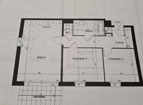 Appartement à vendre 3 62m2 à Tourcoing vignette-2