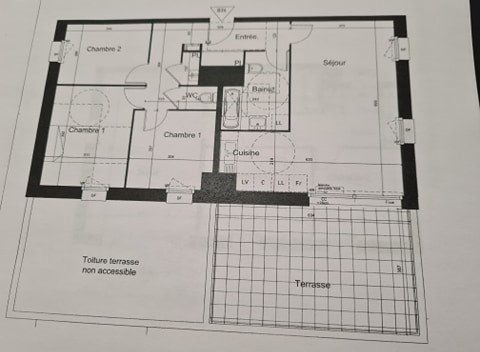 Appartement à vendre 4 79.46m2 à Tourcoing vignette-2