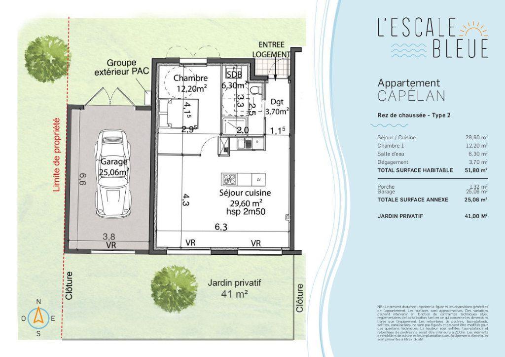 Appartement à vendre 2 52m2 à Bandol vignette-2