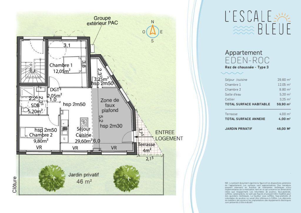 Appartement à vendre 3 60m2 à Bandol vignette-2