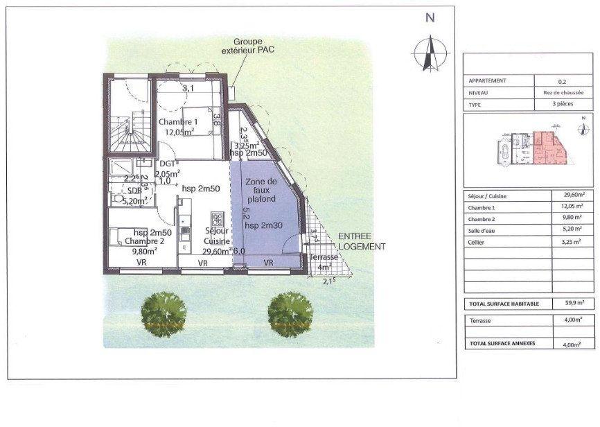 Appartement à vendre 3 60m2 à Bandol vignette-3