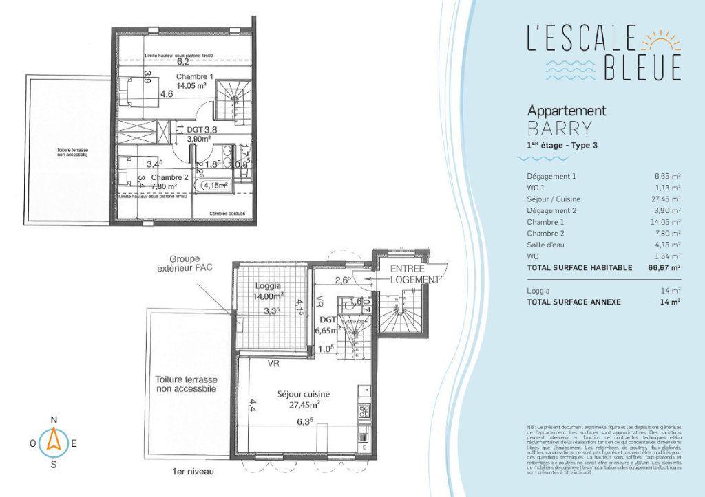 Appartement à vendre 3 66m2 à Bandol vignette-2