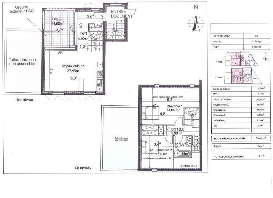 Appartement à vendre 3 66m2 à Bandol vignette-3