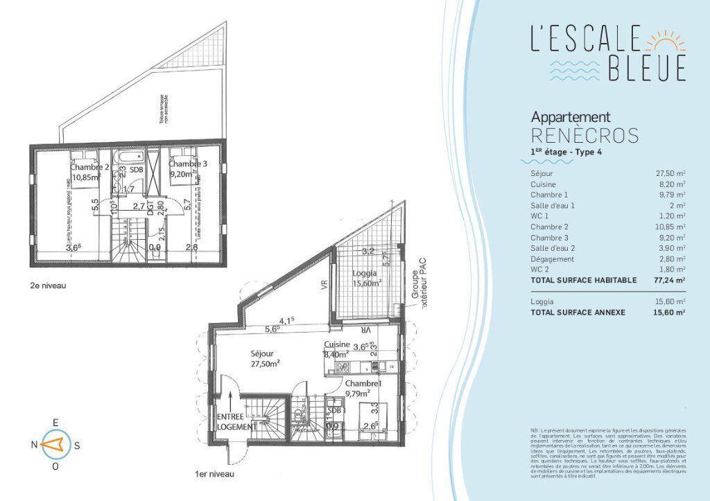 Appartement à vendre 4 77m2 à Bandol vignette-2