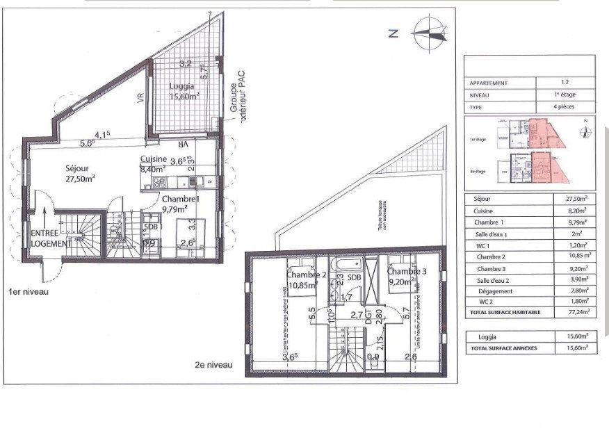 Appartement à vendre 4 77m2 à Bandol vignette-3