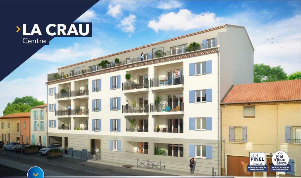 Appartement à vendre 4 56.21m2 à La Crau vignette-1