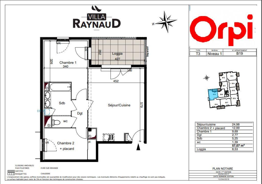 Appartement à vendre 3 57.05m2 à Six-Fours-les-Plages vignette-2
