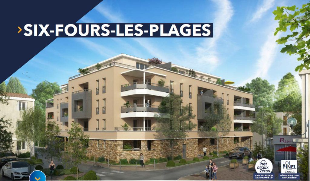 Appartement à vendre 3 65.75m2 à Six-Fours-les-Plages vignette-1