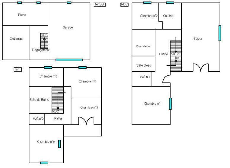Maison à vendre 8 143m2 à Goussainville vignette-3