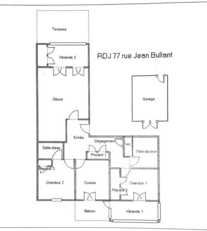 Appartement à vendre 3 93m2 à Perpignan plan-1