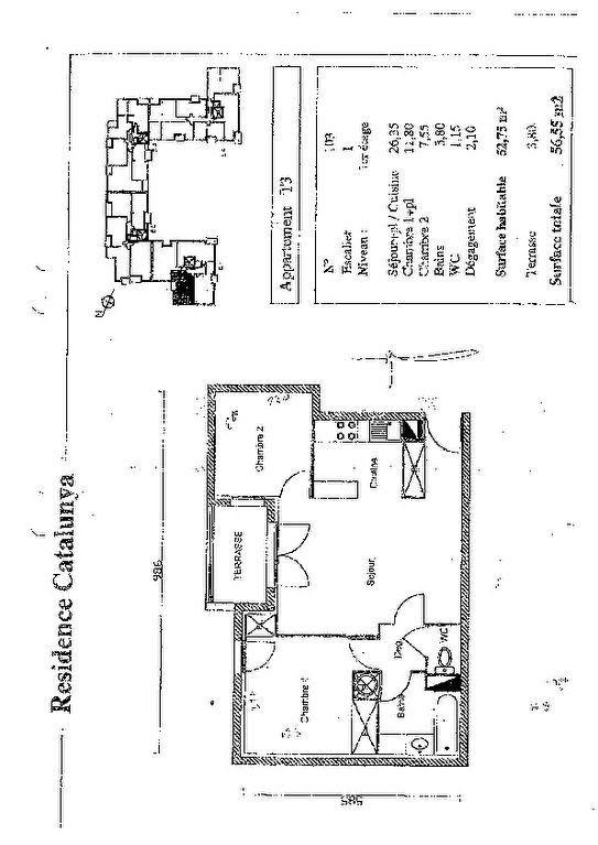 Appartement à vendre 3 56.75m2 à Perpignan vignette-4