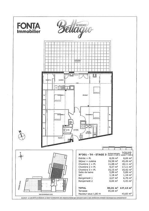Appartement à vendre 4 83.31m2 à Toulouse vignette-5