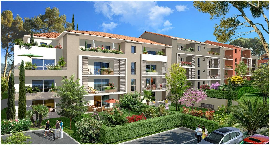 Appartement à vendre 2 49m2 à Fréjus vignette-1