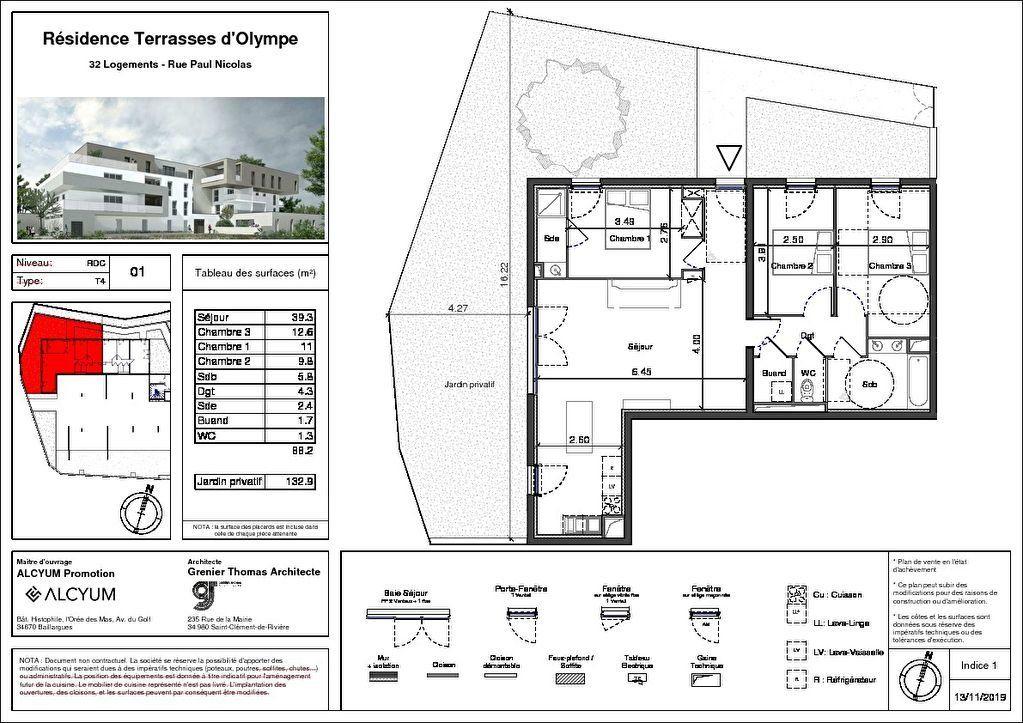 Appartement à vendre 4 88m2 à Nîmes vignette-2