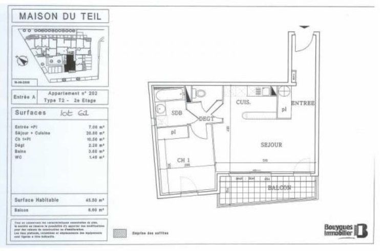 Appartement à louer 2 42.5m2 à Nîmes vignette-4