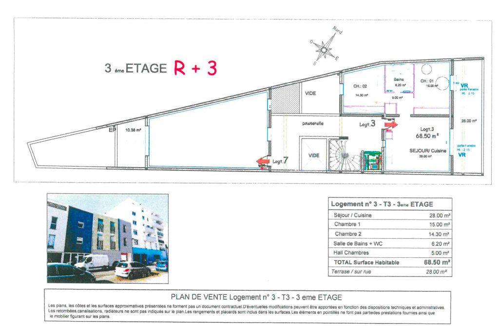 Appartement à vendre 3 68.5m2 à Nîmes vignette-1