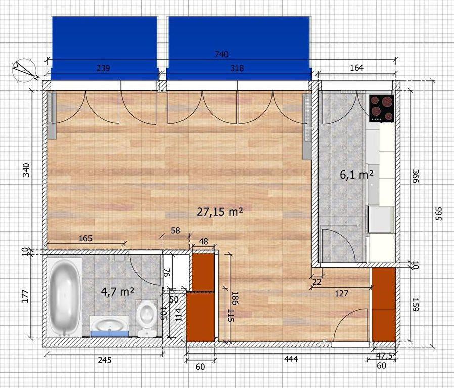 Appartement à louer 2 38m2 à Saint-Maur-des-Fossés vignette-4