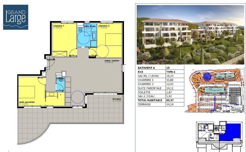 Appartement à vendre 4 83.37m2 à Sari-Solenzara vignette-4