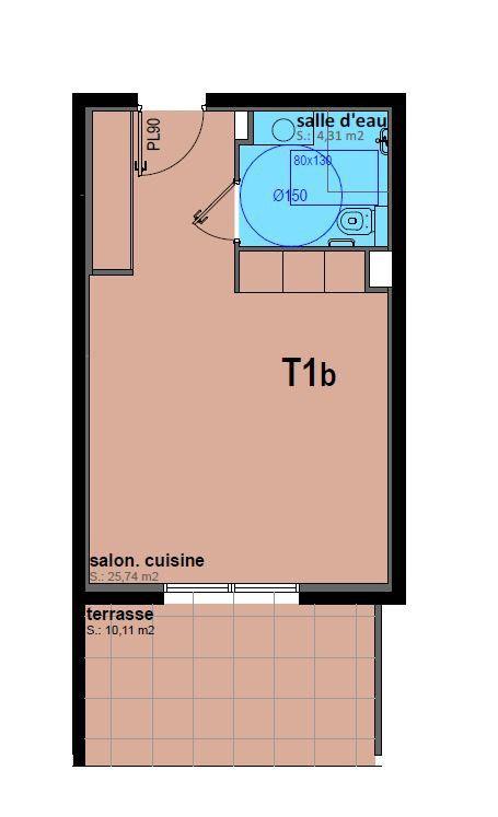 Appartement à vendre 1 30.05m2 à Sari-Solenzara vignette-4