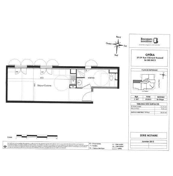 Appartement à louer 1 29.1m2 à Nice vignette-4