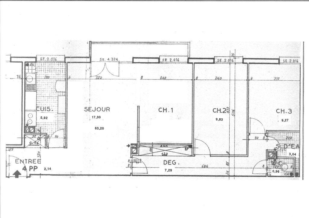 Appartement à vendre 4 64m2 à Chevilly-Larue vignette-2