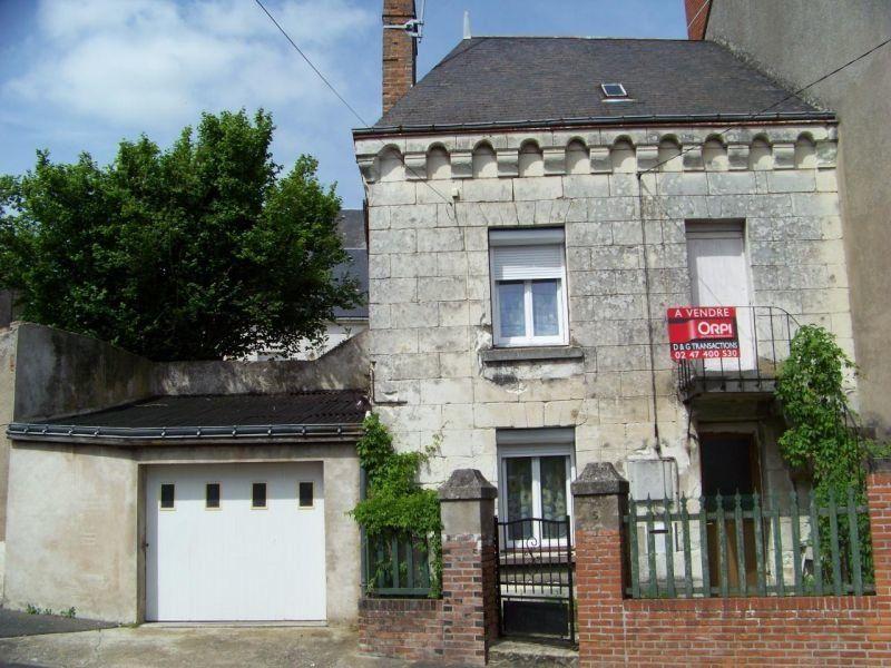 Maison à vendre 3 61m2 à Château-Renault vignette-1