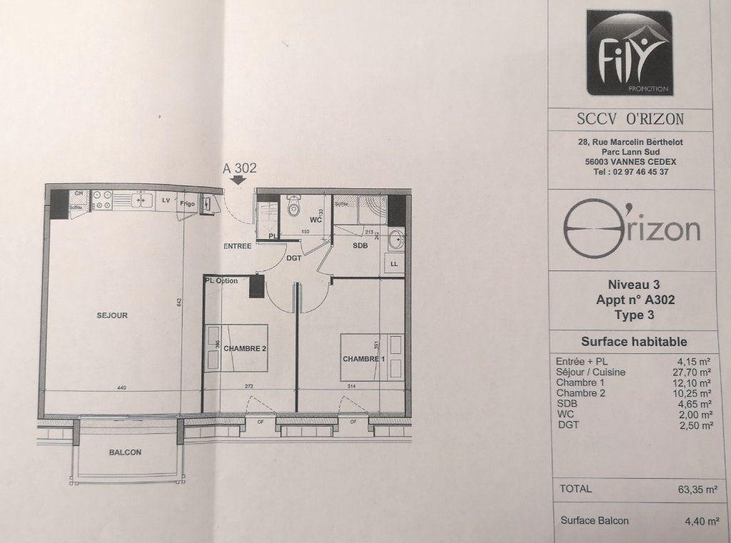 Appartement à louer 3 63.16m2 à Hennebont vignette-6